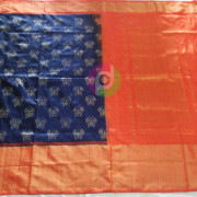 Pochampally Ikat Silk Saree-1a