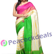 Pochampally ikkat  silk saree- 11-7800
