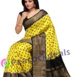Pochampally ikkat  silk saree-12-7900