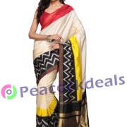 Pochampally ikkat  silk saree-9-7500